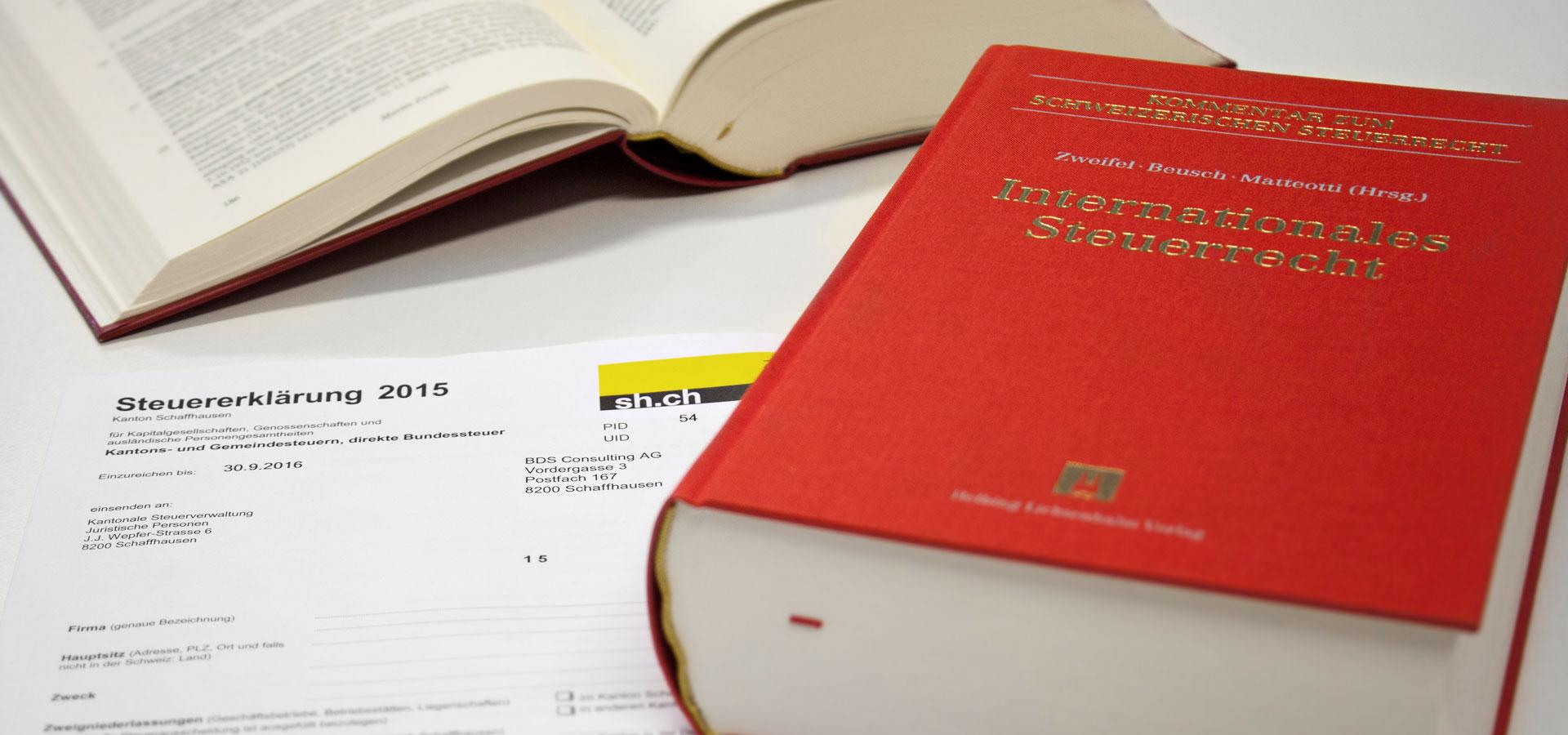 Schweizer Steuerrecht